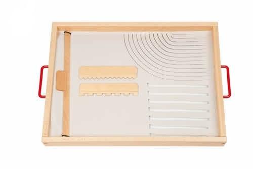 Набор для пескотерапии базовый «Рисуем и играем на песке»              арт. RN23155