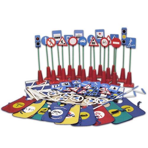Детский игровой комплект «Азбука дорожного движения»           арт. АЛ12707
