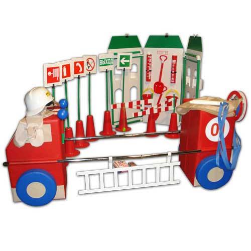 Детский игровой комплект «Азбука пожарной безопасности»             арт. АЛ12710