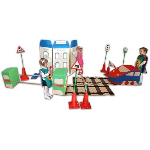 Детский игровой комплект «Азбука железной дороги»           арт. АЛ12720