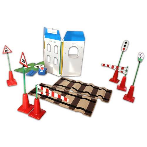 Детский игровой комплект «Азбука железной дороги»            арт. АЛ12723