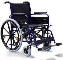 Кресло-коляска механическая с приводом от обода колеса с усиленной рамой 28 (708D c двойной крестовиной)              Арт. RX15370