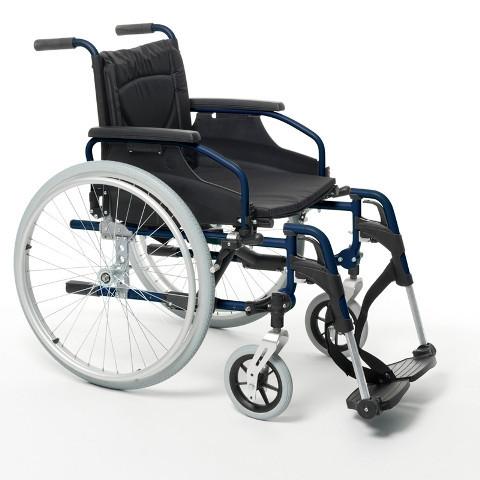 Кресло-коляска механическая с приводом от обода колеса V300  с двойной крестовиной              Арт. RX15379