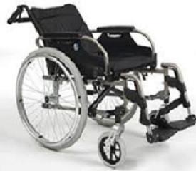 Кресло-коляска механическая с приводом от обода колеса с углом наклона спинки многофункциональная V300 30° (+3000 опции: подушка и антиопрокидыватели)