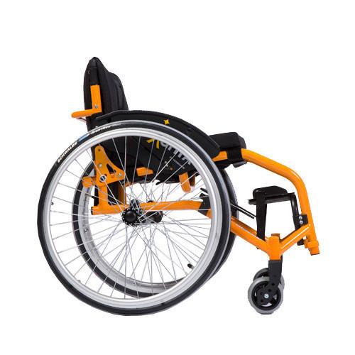 Кресло-коляска активная (спортивная) механическая с приводом от обода колеса Sagitta              Арт. RX15393