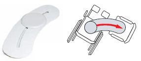 Доска для перемещения (Изогнутая упрощает осуществление изменения положения пациентов в случае необходимости ухода)              Арт. RX15400