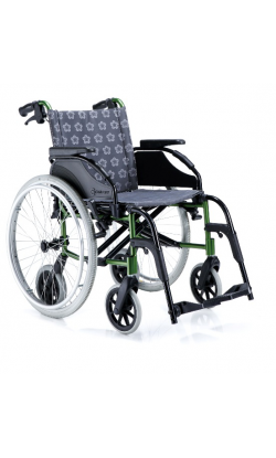 Кресло-коляска инвалидная алюминиевая LY-710-K8                     арт. MT10761