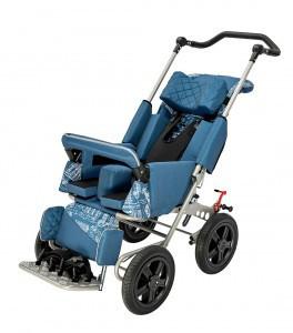 Кресло-коляска инвалидное РЕЙСЕР. Размер 2              арт. 16737МО2