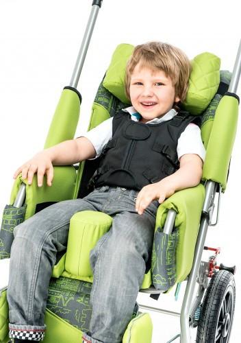 Кресло-коляска инвалидное РЕЙСЕР, РЕЙСЕР+. Доп.оборудование. 6-точечный жилет безопасности              арт. 16744МО025
