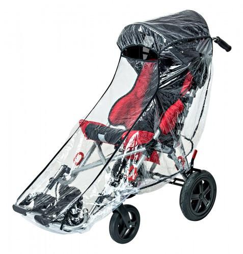 Кресло-коляска инвалидное РЕЙСЕР Ombrello. Дополнительная комплектация.   Дождевик (только при наличии навеса)              арт. 16777МО037
