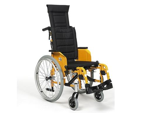 Кресло-коляска механическая с приводом от обода колеса Eclips X4 Kids 90°              Арт. RX15429