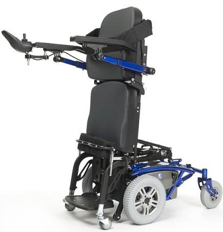 Кресло-коляска электрическая вертикализатор, осуществляет плавное вертикальное положение пользователя Timix SU              Арт. RX15361