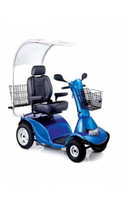 Кресло-коляска инвалидная электрическая (скутер 4-х колесный) LY-EB103-415                арт. MT10869