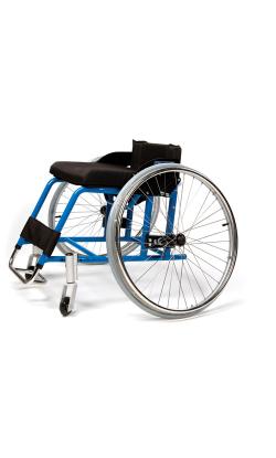 Кресло-коляска инвалидная алюминиевая спортивная   LY-710-20                      арт. MT10898