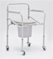 Кресло-коляска с санитарным оснащением для инвалидов  H 021B                 арт. AR15269