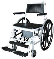 Кресло-коляска инвалидная с санитарным оснащением 5019W24             арт. 12284
