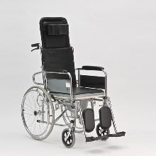 Кресло-коляска инвалидная с санитарным оснащением FS609GC               арт. AR12285