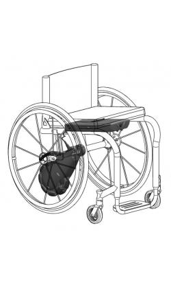 Кресло-коляска инвалидная с электроприводом (эл.усилитель) SmartDrive                      арт. MT10917