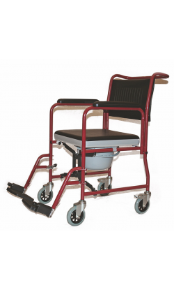 Кресло-коляска инвалидная, (кресло-каталка с туалетным устройством, складная)  LY-800-690                     арт. MT10773