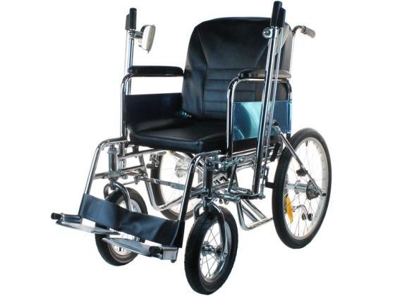 Кресло-коляска инвалидная с ручным рычажным приводом LY-250-990                арт. MT21767