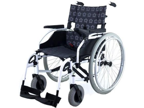 Кресло-коляска инвалидная электрическая 2 в 1 с возможностью установки колес с ручным приводом EB103-101                арт. MT21788