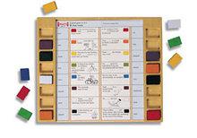 Палитра прямоугольная: карточки. Немецкий язык               арт. RN9807