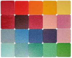 Пластины цветные, 9х9 см               арт. RN10089