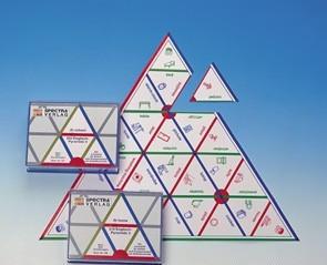Пирамида лингвистическая «Дома». (Серия «Английский язык»)             арт. RN16982