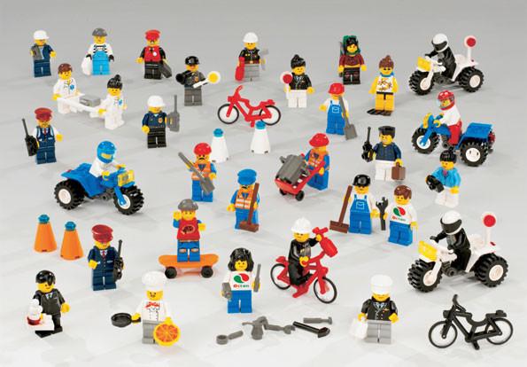 Рабочие и служащие. LEGO               арт. RN10283