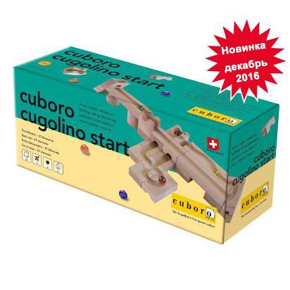 Деревянный конструктор Cuboro cugolino start (куголино старт)              арт. Cub24358
