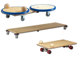 Тренажeр игровой «Скейт» (60x35)               арт. RN16852