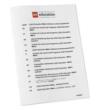 ПервоРобот LEGO WeDo. ПО. Комплект интерактивных заданий. Книга/уч. Лицензия на класс. Win&Mac              арт. RN16958