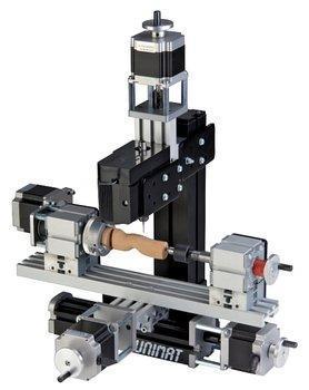 Конструктор модульных станков с ЧПУ UNIMAT CNC. Дополнительный набор.(4-х осный)              арт. RN23167