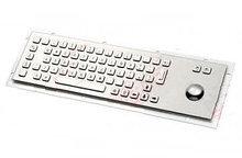 Клавиатура металлическая антивандальная встраиваемая с трекболом SZZT                     арт. ТчБ24270