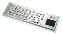 Клавиатура металлическая антивандальная встраиваемая с тачпадом SZZT                     арт. ТчБ24271