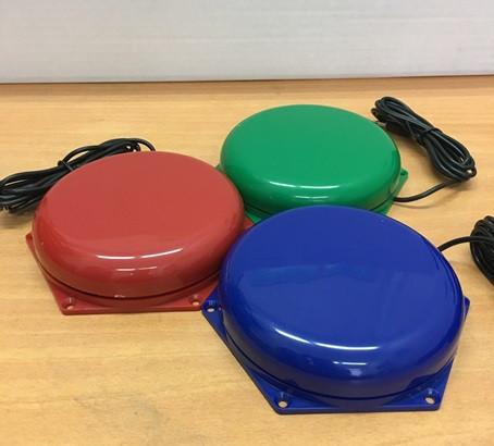 Выносная компьютерная кнопка  (диаметр 100 мм)               арт. ГлА22722