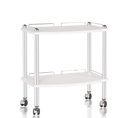Стол-тележка ST-2, стеклянный                      арт. PlT23620