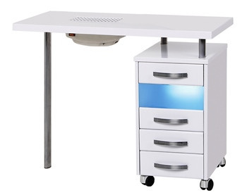 Стол маникюрный с УФО и пылесосом                     арт. PlT23647