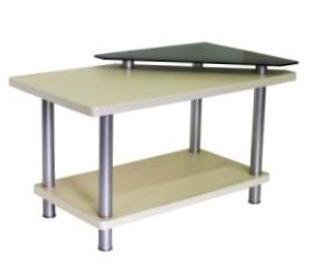 Стол универсальный (трапеция со стеклом)                   арт. PlT23682