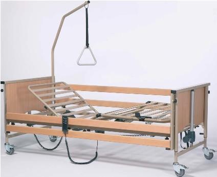 Кровать функциональная 4-х секционная электрическая (в комплекте с матрасом) LUNA Basic             Арт. RX15331