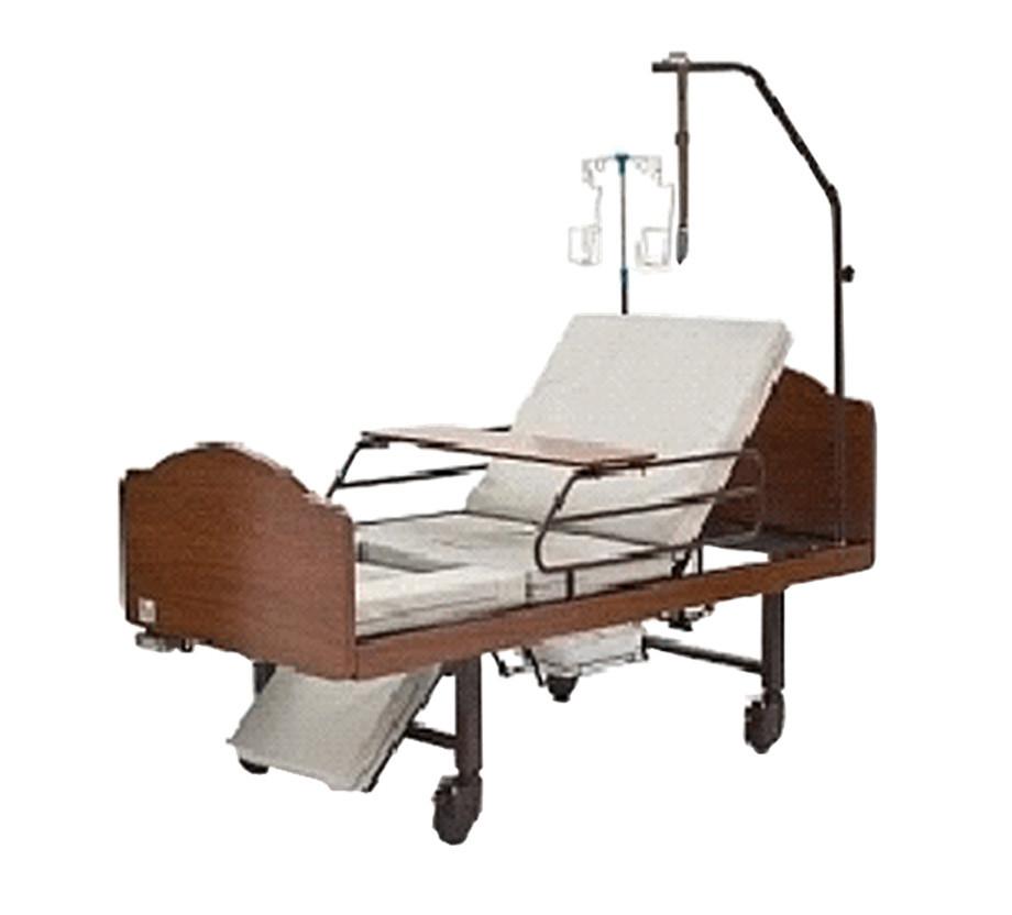 Кровать медицинская с санитарным оснащением механическая  DHC FF-3 арт.RX18250