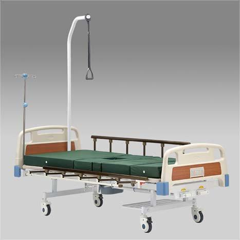 Кровать функциональная механическая  с принадлежностями  RS104-Е (с санитарным приспособлением )               арт. AR21178