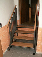 Лестница-трансформер FlexStep 4 ступеньки высота подъема до 730мм        арт. OB20941