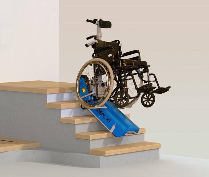 Мобильный лестничный подъемник для инвалидов IDEAL X1