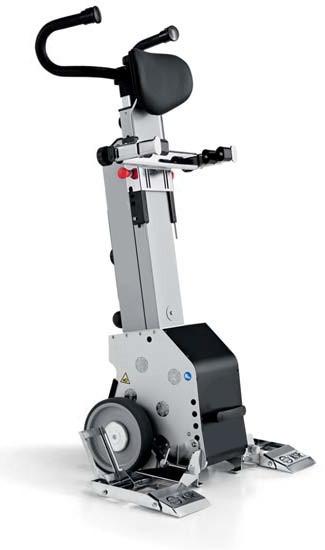 Лестничный подъемник колесный для инвалидов YACK N 910 (версия для коляски)