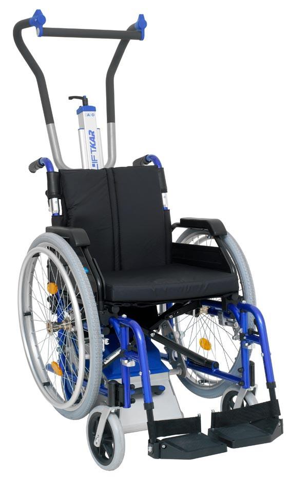 Лестничный колесный подъемник для инвалидов LIFTKAR PT adapt 160