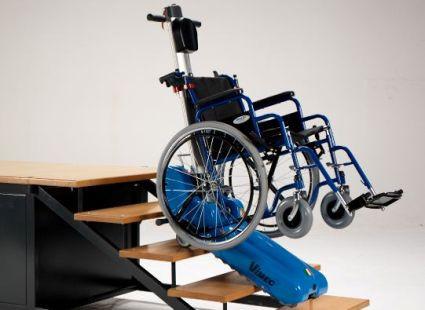 Мобильная система перемещения инвалида-колясочника (в комплекте подъемник лестничный гусеничный мобильный  для инвалидов Т09 Roby РРР + БОНУС -