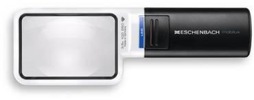 Лупа асферическая ручная (карманная) с подсветкой mobilux® LED, 75 х 50 мм, 3.5х (10.0 дптр)                       арт. Мзр24452