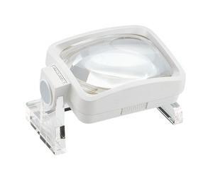 Лупа асферическая настольная visomax, 100 х 75 мм, 3.8х (11.0 дптр)                       арт. Мзр24475