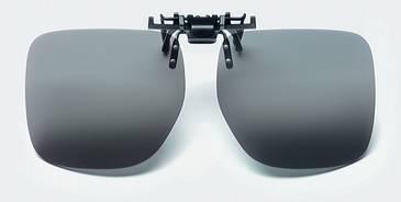 Светофильтры Polarised clip-on sunglasses, 3 категория, серые                      арт. Мзр24498